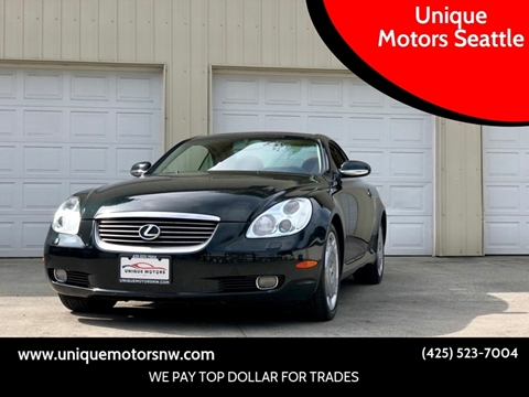 2002 Lexus SC 430 for sale at Unique Motors Seattle in Bellevue WA