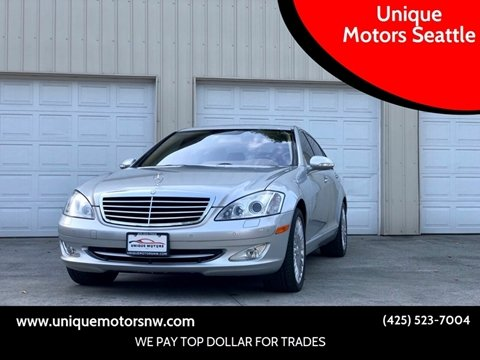 2007 Mercedes-Benz S-Class for sale at Unique Motors Seattle in Bellevue WA