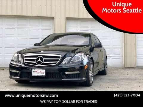 2011 Mercedes-Benz E-Class for sale at Unique Motors Seattle in Bellevue WA