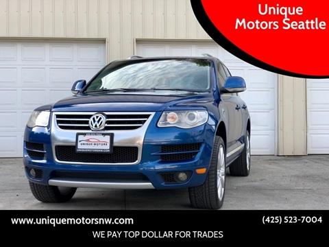 2010 Volkswagen Touareg for sale at Unique Motors Seattle in Bellevue WA