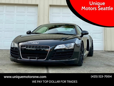 2012 Audi R8 for sale at Unique Motors Seattle in Bellevue WA