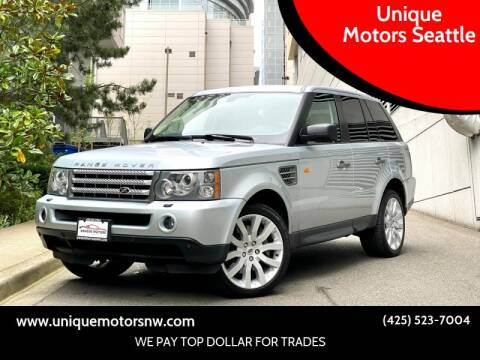 2008 Land Rover Range Rover Sport for sale at Unique Motors Seattle in Bellevue WA