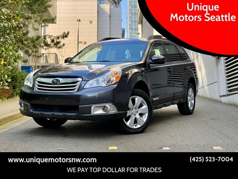 2012 Subaru Outback for sale at Unique Motors Seattle in Bellevue WA