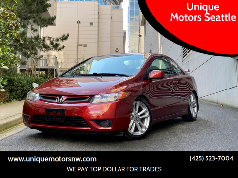 2007 Honda Civic for sale at Unique Motors Seattle in Bellevue WA