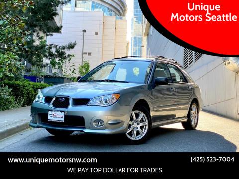 2007 Subaru Impreza for sale at Unique Motors Seattle in Bellevue WA