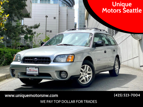 2004 Subaru Outback for sale at Unique Motors Seattle in Bellevue WA