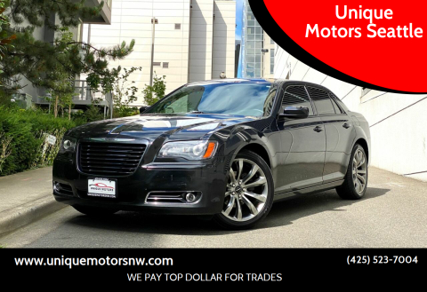 2014 Chrysler 300 for sale at Unique Motors Seattle in Bellevue WA