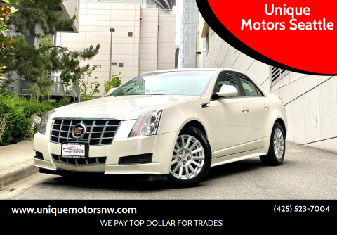 2013 Cadillac CTS for sale at Unique Motors Seattle in Bellevue WA