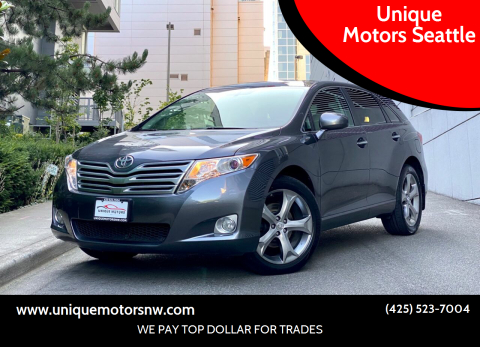 2009 Toyota Venza for sale at Unique Motors Seattle in Bellevue WA