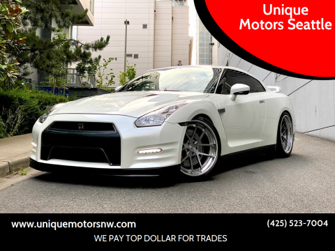 2012 Nissan GT-R for sale at Unique Motors Seattle in Bellevue WA