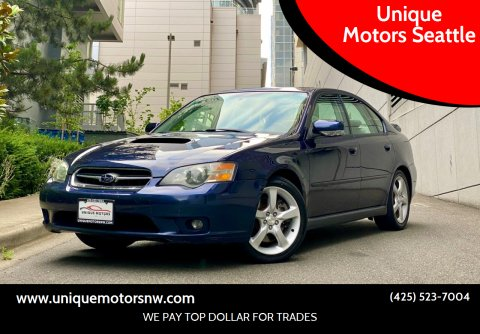 2005 Subaru Legacy for sale at Unique Motors Seattle in Bellevue WA