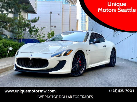 2013 Maserati GranTurismo for sale at Unique Motors Seattle in Bellevue WA