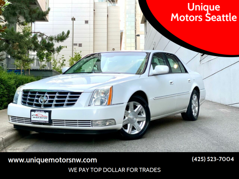 2007 Cadillac DTS for sale at Unique Motors Seattle in Bellevue WA