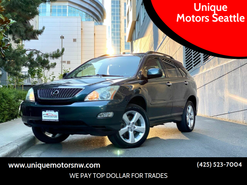 2004 Lexus RX 330 for sale at Unique Motors Seattle in Bellevue WA