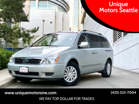 2012 Kia Sedona for sale at Unique Motors Seattle in Bellevue WA