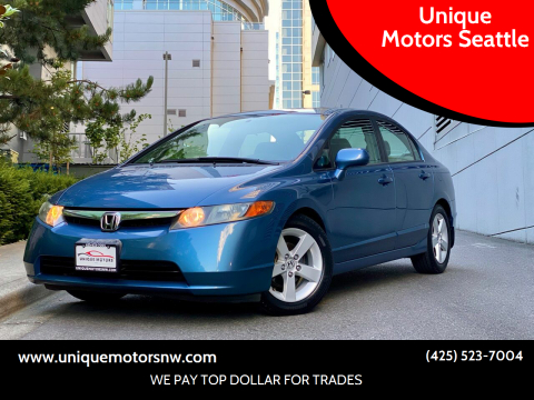 2006 Honda Civic for sale at Unique Motors Seattle in Bellevue WA