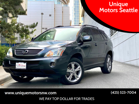 2006 Lexus RX 400h for sale at Unique Motors Seattle in Bellevue WA