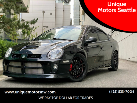 2004 Dodge Neon SRT-4 for sale at Unique Motors Seattle in Bellevue WA