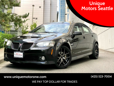 2008 Pontiac G8 for sale at Unique Motors Seattle in Bellevue WA