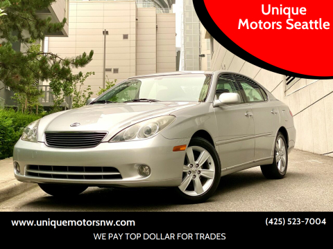 2005 Lexus ES 330 for sale at Unique Motors Seattle in Bellevue WA