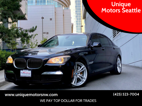2010 BMW 7 Series for sale at Unique Motors Seattle in Bellevue WA