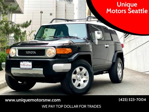 2007 Toyota FJ Cruiser for sale at Unique Motors Seattle in Bellevue WA