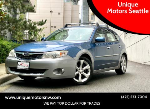 2009 Subaru Impreza for sale at Unique Motors Seattle in Bellevue WA