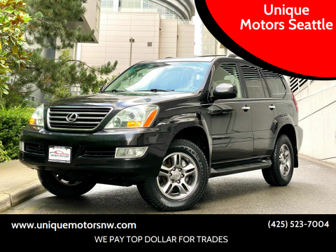 2009 Lexus GX 470 for sale at Unique Motors Seattle in Bellevue WA
