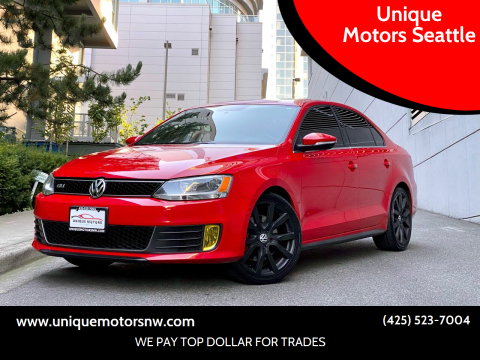 2013 Volkswagen Jetta for sale at Unique Motors Seattle in Bellevue WA
