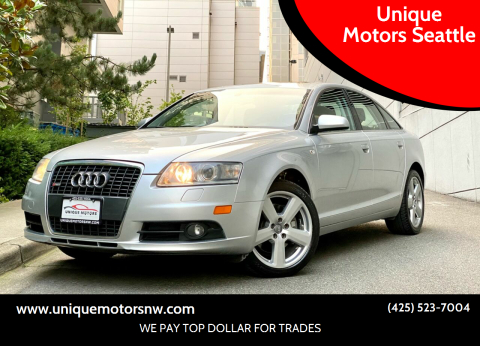 2008 Audi A6 for sale at Unique Motors Seattle in Bellevue WA
