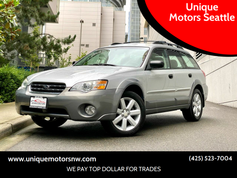 2007 Subaru Outback for sale at Unique Motors Seattle in Bellevue WA