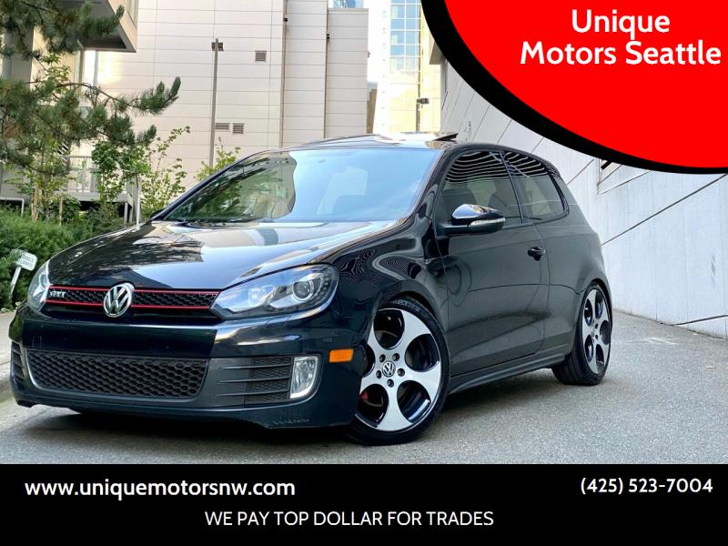 2012 Volkswagen GTI for sale at Unique Motors Seattle in Bellevue WA