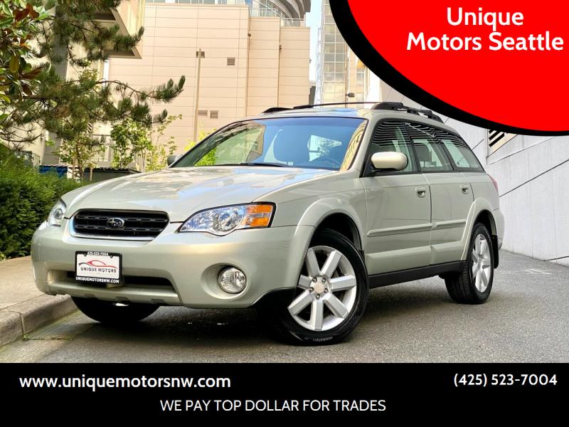2006 Subaru Outback for sale at Unique Motors Seattle in Bellevue WA