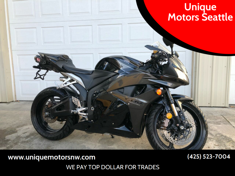 2009 Honda CBR600RR for sale at Unique Motors Seattle in Bellevue WA