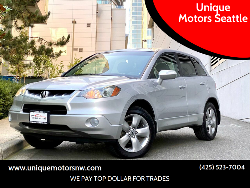 2007 Acura RDX for sale at Unique Motors Seattle in Bellevue WA