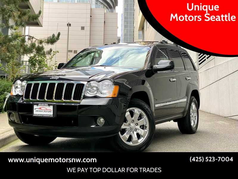2010 Jeep Grand Cherokee for sale at Unique Motors Seattle in Bellevue WA
