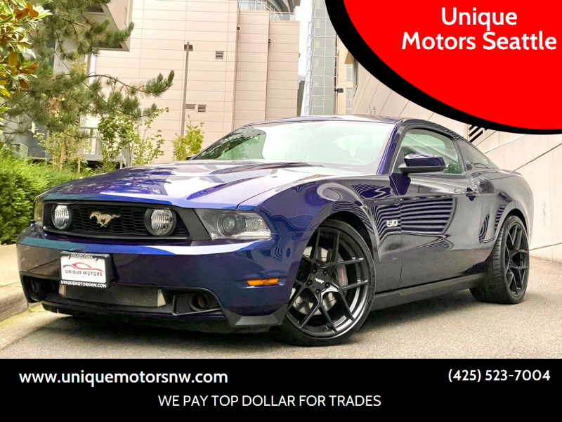 2012 Ford Mustang for sale at Unique Motors Seattle in Bellevue WA