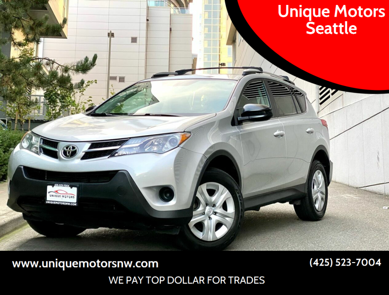 2014 Toyota RAV4 for sale at Unique Motors Seattle in Bellevue WA