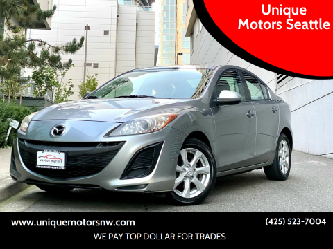 2011 Mazda MAZDA3 for sale at Unique Motors Seattle in Bellevue WA