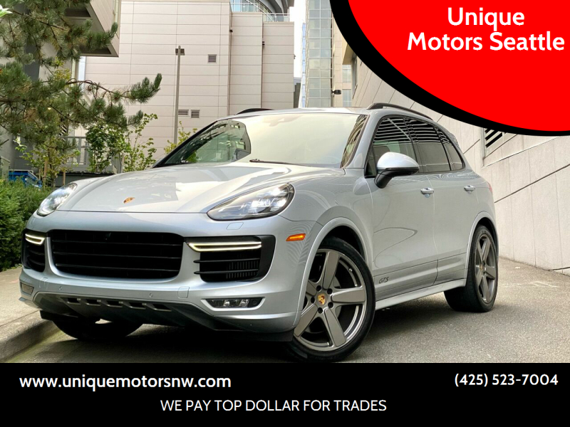 2016 Porsche Cayenne for sale at Unique Motors Seattle in Bellevue WA