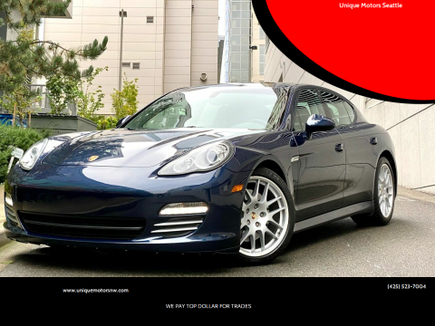 2011 Porsche Panamera for sale at Unique Motors Seattle in Bellevue WA