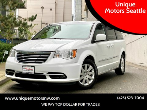 2016 Chrysler Town and Country for sale at Unique Motors Seattle in Bellevue WA