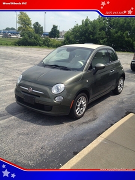 2013 FIAT 500c for sale in Jacksonville, IL