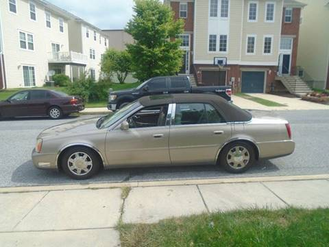 2004 Cadillac DeVille for sale at 28TH STREET AUTO SALES AND SERVICE in Wilmington DE