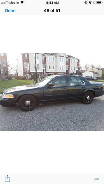 2007 Ford Crown Victoria for sale at 28TH STREET AUTO SALES AND SERVICE in Wilmington DE