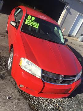 2009 Dodge Avenger SXT for sale at 28TH STREET AUTO SALES AND SERVICE in Wilmington DE