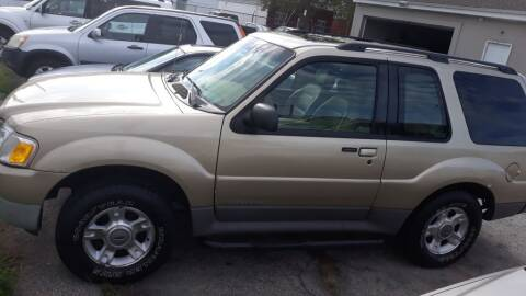 2002 Ford Explorer Sport Value for sale at 28TH STREET AUTO SALES AND SERVICE in Wilmington DE