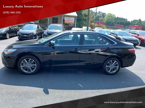 2016 Toyota Camry for sale in Flowery Branch, GA
