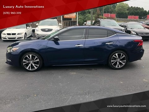 2016 Nissan Maxima for sale in Flowery Branch, GA