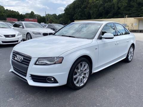 2012 Audi A4 for sale at Luxury Auto Innovations in Flowery Branch GA